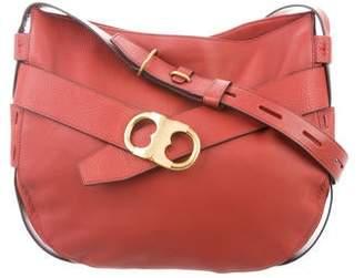 824951002 Tory Burch Gemini Leather Crossbody Bag