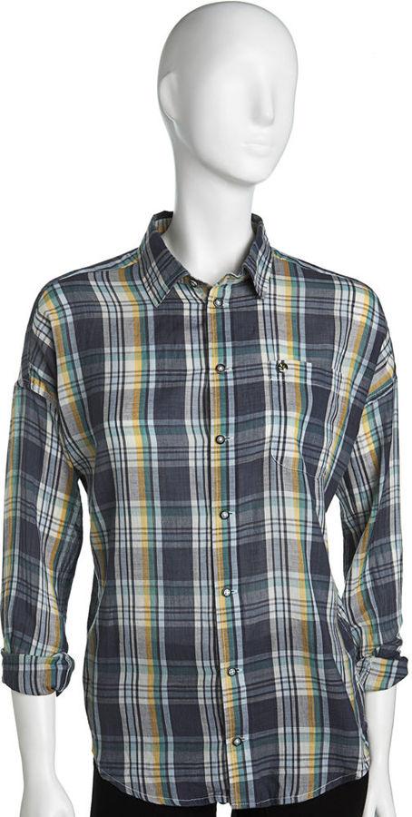Ever Plaid Shirt - Navy