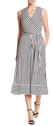 ECI Sleeveless Stripe Jumpsuit