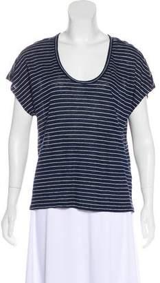 Joie Short Sleeve Linen T-Shirt