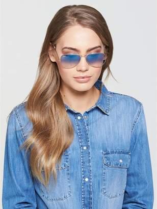 Ray-Ban Large Aviator Sunglasses - Blue