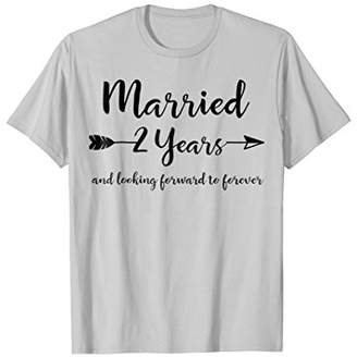 Cotton Anniversary Gifts for Him Her Couple Marriage T-Shirt