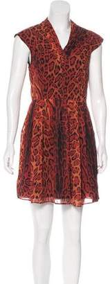 Ted Baker Printed Mini Dress