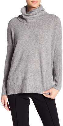 Minnie Rose Dropped Cashmere Turtleneck Sweater