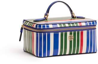 Tory Burch ROBINSON STRIPE LARGE COSMETIC CASE