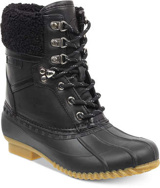 Tommy Hilfiger Rian Lace-Up Winter Boots Women's Shoes