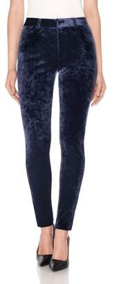 Joe's Jeans Charlie High Waist Ankle Skinny Velvet Pants