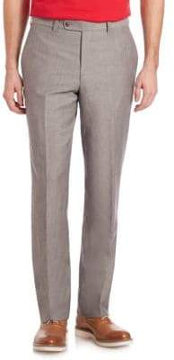 Saks Fifth Avenue COLLECTION Wool & Linen Pants