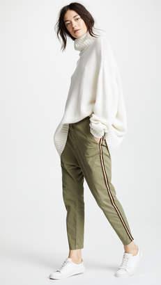 Nili Lotan Paris Pants with Tape Trim