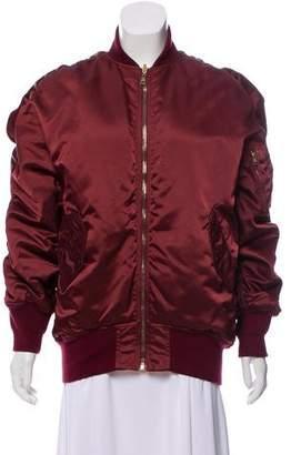 Balenciaga Satin Bomber Jacket w/ Tags
