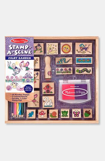 Melissa & Doug Toddler 'Stamp-A-Scene - Fairy Garden' Stamp Set