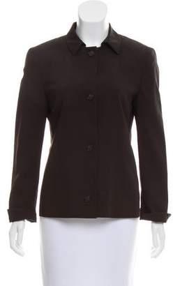 Akris Punto Lightweight Wool Jacket