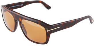 Tom Ford Rectangle Acetate Sunglasses