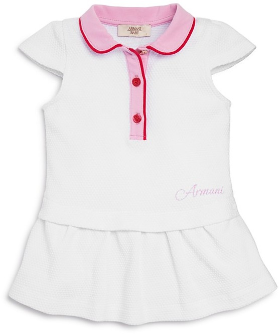Armani Junior Armani Junior Infant Girls' Polo Dress - Sizes 12-36 Months