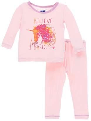 Kickee Pants Believe In Magic-Pj-Set
