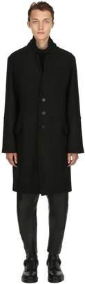 Isabel Benenato Virgin Wool Cloth Coat