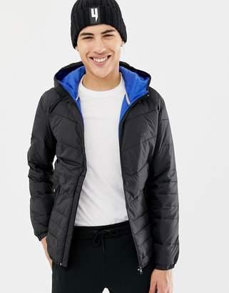 Jack and Jones Originals hooded puffer jacket