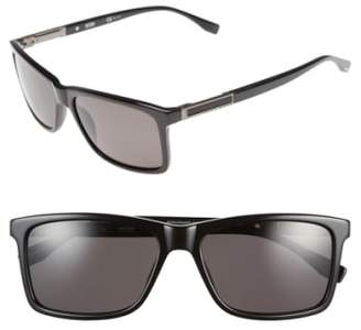 BOSS '0704PS' 57mm Polarized Sunglasses