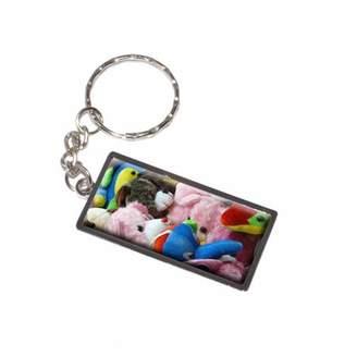 Generic Stuffed Plush Animals Teddy Bear Toys Keychain Key Chain Ring