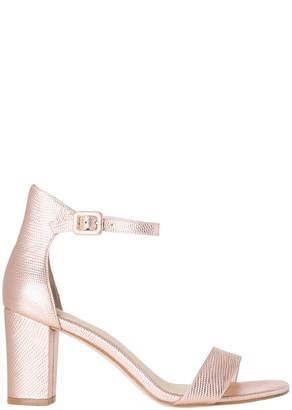 Silence Rose Metallic Sandal