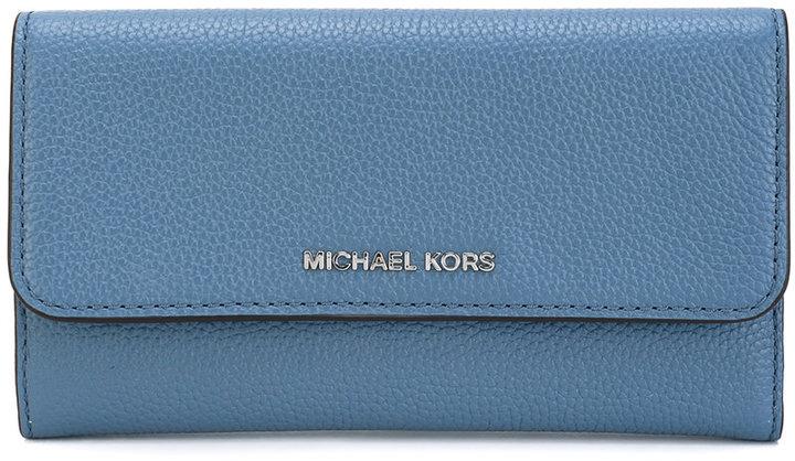 MICHAEL Michael KorsMichael Kors logo plaque wallet