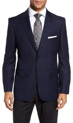 JB Britches Classic Fit Solid Wool Sport Coat