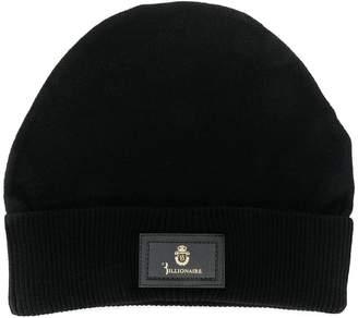 Billionaire knit beanie hat