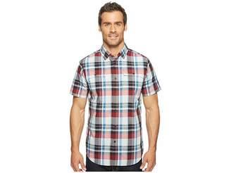Spyder Crucial Short Sleeve Button Down Shirt Men's Short Sleeve Button Up
