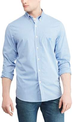 Chaps Men's Slim-Fit Stretch Easy-Care Button-Down Shirt
