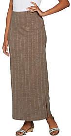 Lisa Rinna Collection Ribbed Knit Maxi Skirt