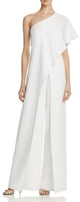 Avery G One Shoulder Jumpsuit $258 thestylecure.com