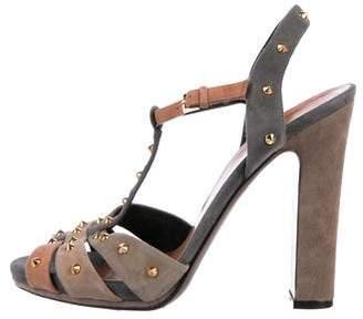 Gucci Multi-Color Embellished Sandals