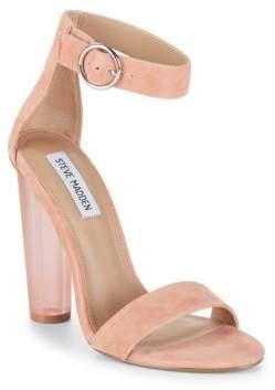 Steve Madden Teaser Suede Ankle-Strap Sandals