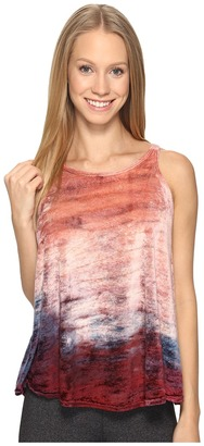 Hard Tail - Split Back Float Tank Top Women's Sleeveless $66 thestylecure.com