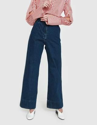 Rachel Comey Clean Bishop Pant in Classic Indigo