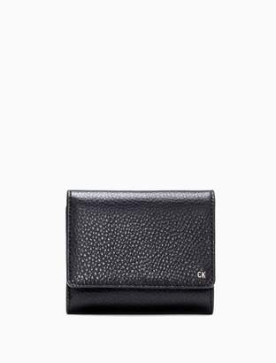 Calvin Klein Workman Leather Medium Trifold Wallet