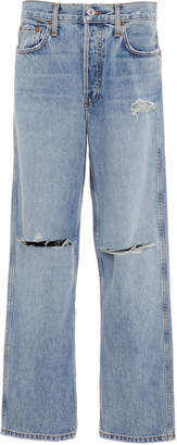RE/DONE Low-Slung Cropped Jeans