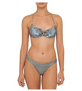 Zimmermann Caravan Frill Bra Bikini