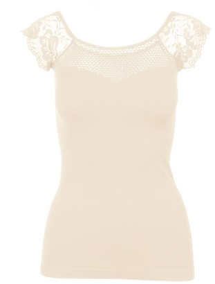 Pink Label Xenia Lace Off-The-Shoulder Top