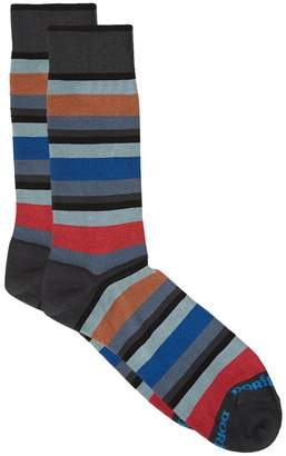 Dore Dore Stripe Print Socks