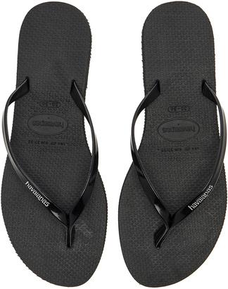 Havaianas You Metallic Sandal $40 thestylecure.com