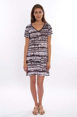 David Cline Stripe Jersey Dress