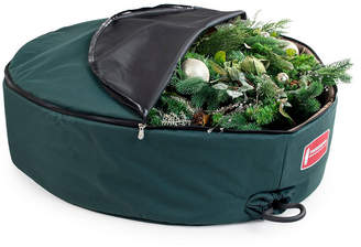 "TreeKeeper 48"" Wreath Storage Bag w/ Removable Handle Foam Lined"