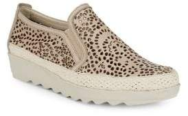 The Flexx Call Me Leather Platform Sneakers