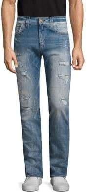 True Religion Rocco Relaxed-Fit Flap-Pocket Jeans