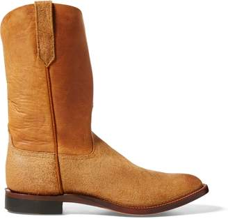 Ralph Lauren Roper Leather Cowboy Boot