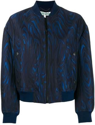 Kenzo embroidered bomber jacket