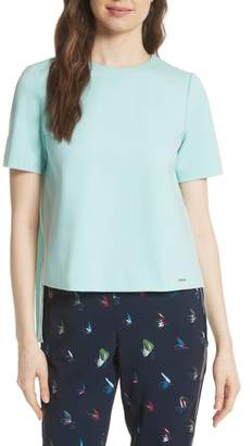 Ted Baker Colour by Numbers Naevaa Pleat Back Top