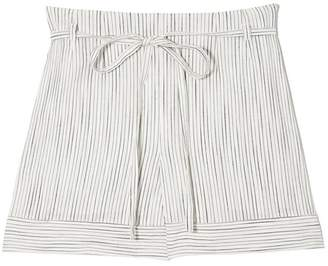 Vince Camuto Striped Tie-waist Shorts