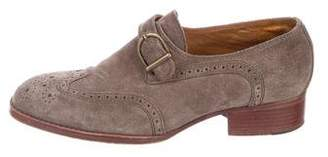 See by Chloe Suede Round Toe Oxfords